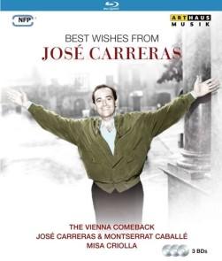 Best wishes from Carreras Arthaus