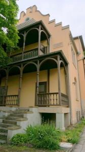 Diese Villa in Jena hat Max Reger mit seiner Familie im Jahr 1915 bezogen. Sie gehört jetzt der Universität. Foto: Winter