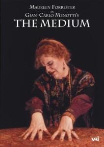 """In einer Produktion von Mentottis """"Medium"""" von 1977, die bei VAI veröffentlicht wurde, ist die Forrester auch im Film zu sehen."""