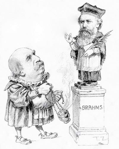 Große Geister und ihre Kritiker: Johannes Brahms und Eduard Hanslick/ OBA