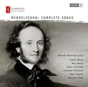 Mendelssohn Lieder 1