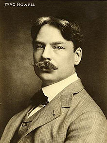 """Romantic Piano Concertos"" bei Briliant Classics: Edward MacDowell/ Wiki"