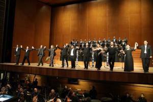 """""""Atahualpa"""": Finale des Konzerts in Lima 2013/ Ministerio de Coltura Lima"""