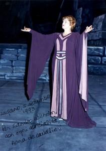 Anna de Cavalieri als Isolde/isoldes-liebestod.net