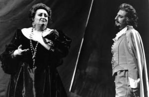 Françoise Pollet (Donna Anna) et Raul Alvarez (Don Ottavio) dans Don Giovanni au Teatro Colon de Buenos Aires en 1994. © Arnaldo Colombaroli/ tutti-magazine.fr/ Pollet