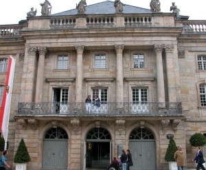 Opernhaus Balkon