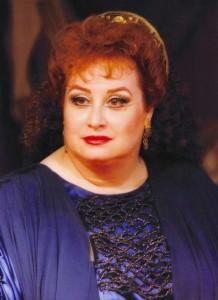 Françoise Pollet dans le rôle de Brunehilde à l'Opéra de Marseille en 1995/ tutti-magazine.fr/ Pollet