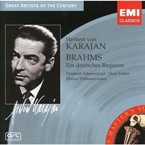 Aus der ersten Aufnahme des Brahms-Requiems unter Herbert von Karajan von 1947 ist nur das Sopransolo übernommen.