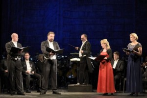 """Carl Maria von Weber: """"Das Waldmärchen"""", konzertante Aufführung am Theater Freiberg/ Szene/ Foto Theater Freiberg"""