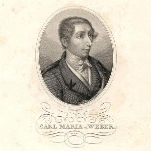 Der junge Carl Maria von Weber/ Eisinger