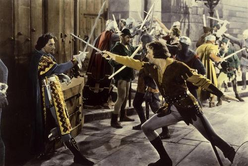 """""""Die Räuberbraut"""": Erroll Flynn wurde in moderner Zeit zum Ingegriff des Edlen Räubers (wie hier als Robin Hood) und des edelmütigen Freibeuters/ Wiki"""