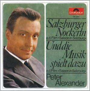 "Operette: Gruselige 50er mit Peter Alexanders Version der ""Salzburger Nockerln"" bei Poyldor/hitparade.ch"