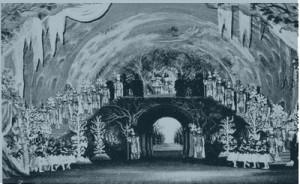 "Szene ""Oberon"" an der Pariser Oper, 1954/ OBA"