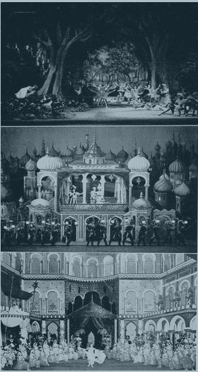 """Webers """"Oberon"""" an der Pariser Oper 1954/ OP"""