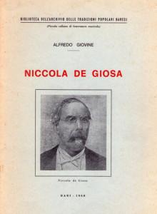 Alfredo Giovines Monographie zu De Giosa von 1968, lange vergriffen