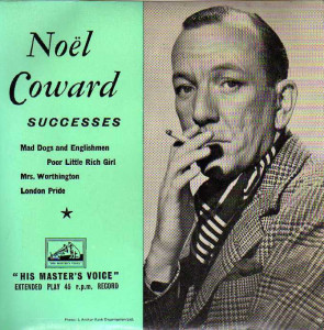 Noel Coward bei HMV