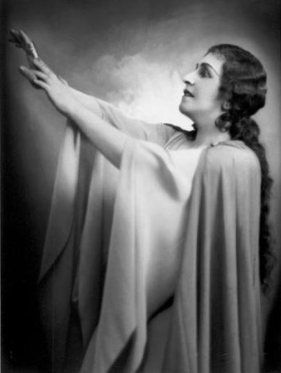 Als Brünnhilde feierte Frida Leider bei den Bayreuther Festspielen ihre größten Erfolge. Das Foto stammt aus dem Sammlung Manskopf der Frankfurter Universität.