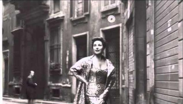 """Phyllis Curtin/ PR-Foto mit Widmunf für den Bariton Bruno Amaducci, mit dem sie als Alice Ford im """"Falstaff"""" an der Met sang/ youtube"""