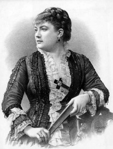 """Tannhauser"" 1861: Marie Sass/Sax sang die Elisabeth/ Foto Marou/ Gallica"
