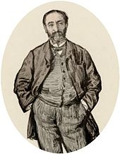 Camille Saint-Saens 1875/ Wiki