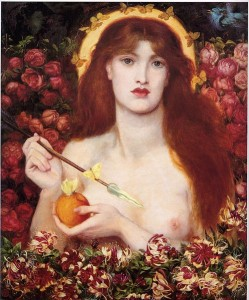 "Saint-Saens: ""Proserpine""/ ""Venus venticorda"" von Rosetti, 1868/ Wiki"