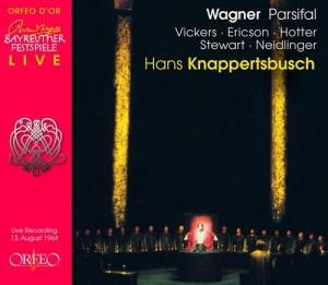 """Im """"Parsifal"""" von 1964 unter der Leitung von Hans Knappertsbusch singt Jon Vickers die Titelrolle (C 690074 L)."""