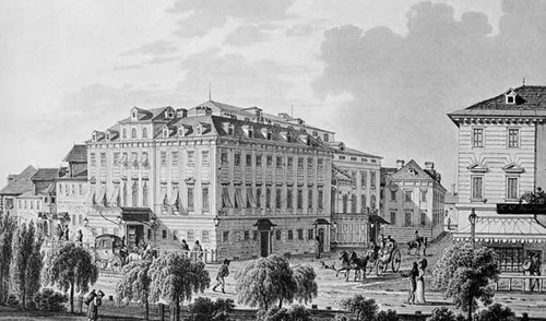 """Beethovens """"Leonore"""": das Theater an der Wien, Urauffürhungsort der ersten beiden Fassungen/ Wiki"""