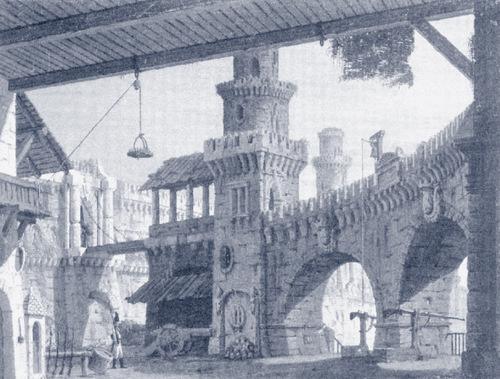 """Beethovens """"Leonore"""": Szenenbild der Uraufführung 1805 am Theater an der Wien/ Wikipedia Commons"""