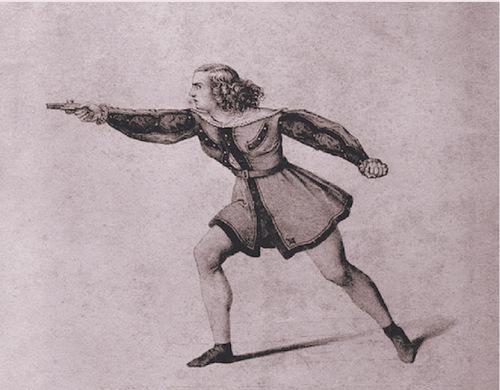 """Beethovens """"Leonore"""": Wilhelmine Schröder-Devrient als Fidelio/ Druck nach Santer 1835/ Wiki"""